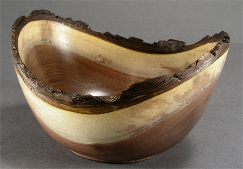 Natural Edge Walnut Bowl