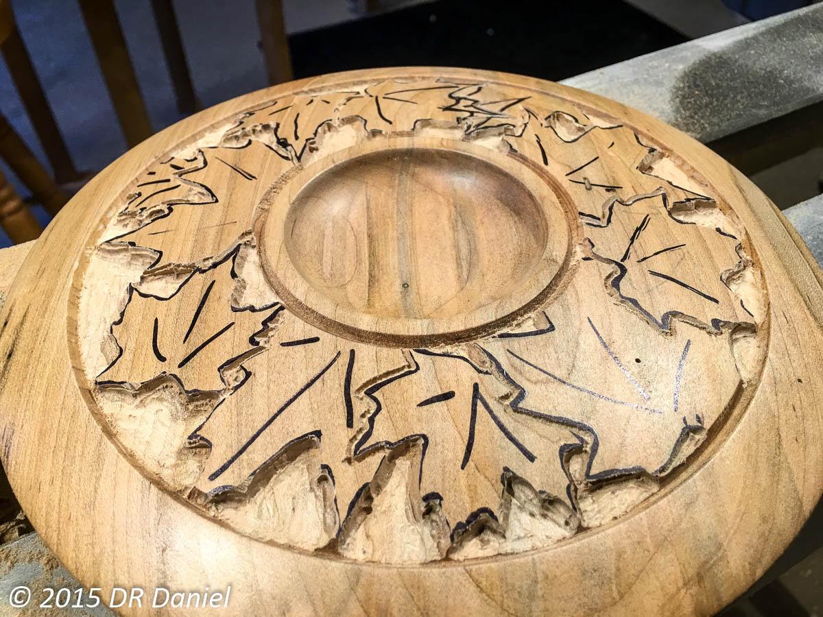 The splintershop wood art from lathe